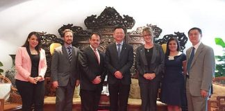 Costa Rican Minister of Foreign Trade Visits JUMORE