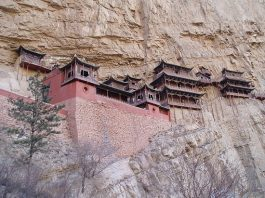 Top 6 hanging temples of China