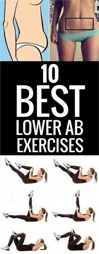 10 Best Exercises To Work Your Lower Abs