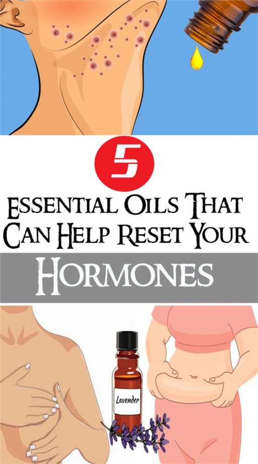 5 Essential Oils That Can Help Reset Your Hormones