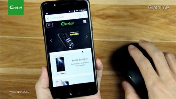 7 Ways for using the OTG USB function with the Gretel A9