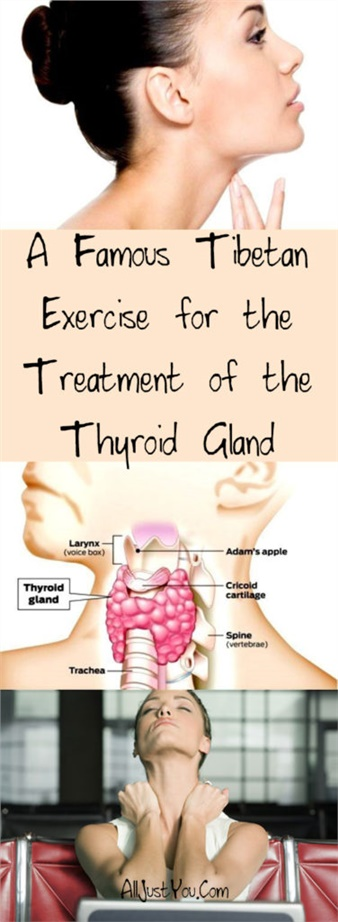 A Famous Tibetan Exercise for the Treatment of the Thyroid Gland