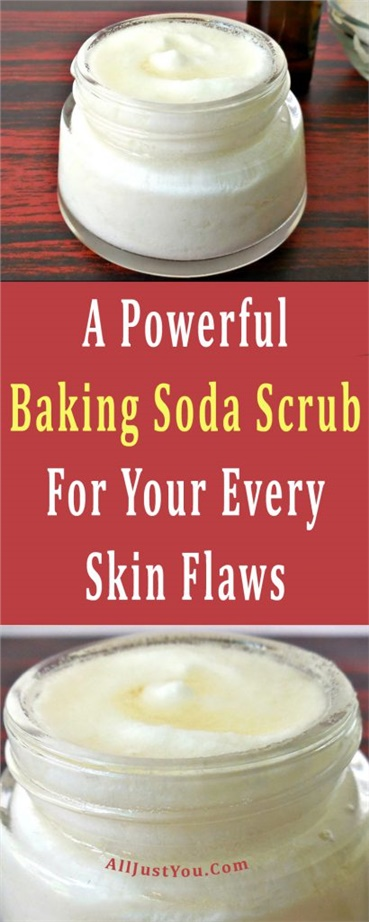 A Powerful Baking Soda Scrub For Your Every Skin Flaws