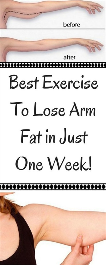 Best Exercise To Lose Arm Fat in Just One Week!