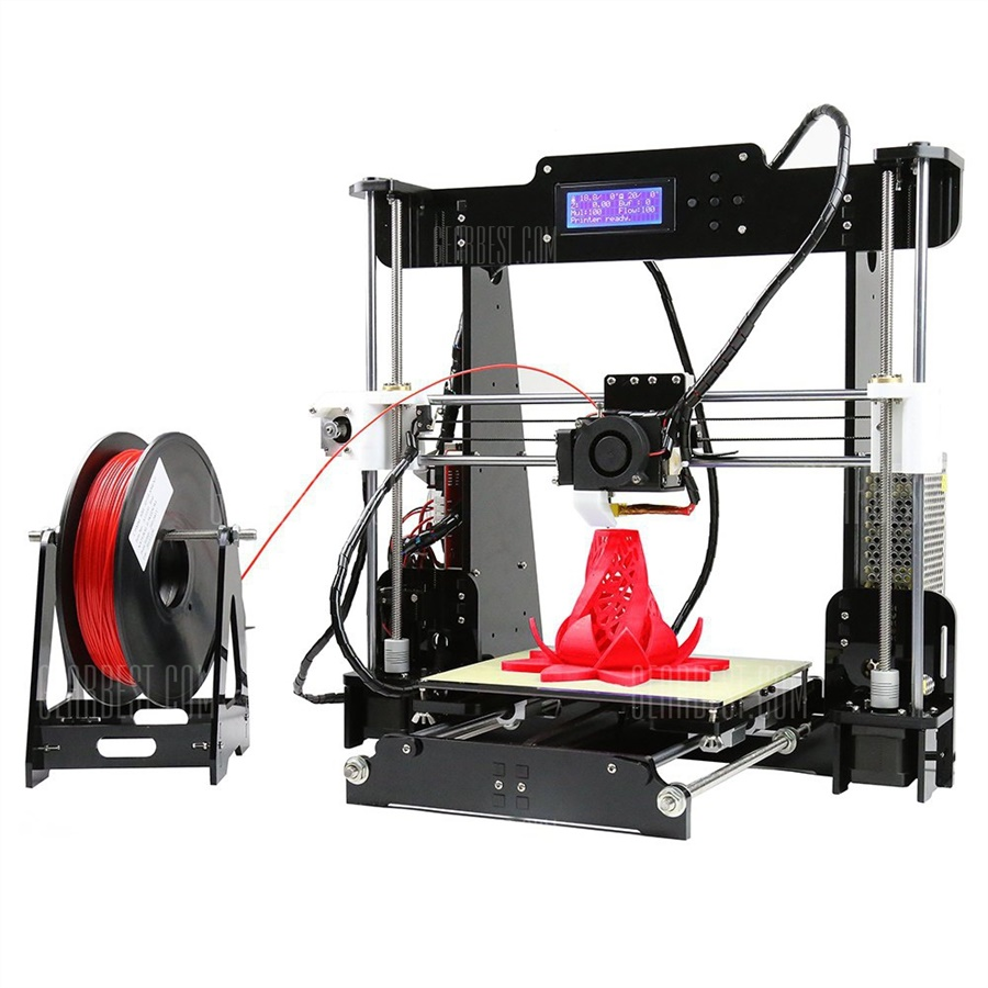 Buy the Anet A8 Desktop 3D Printer for $129.99 and get one filament for free [coupon]