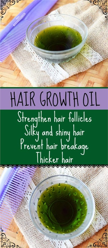 GROW OUT YOUR HAIR WITH THIS ALL-NATURAL OIL