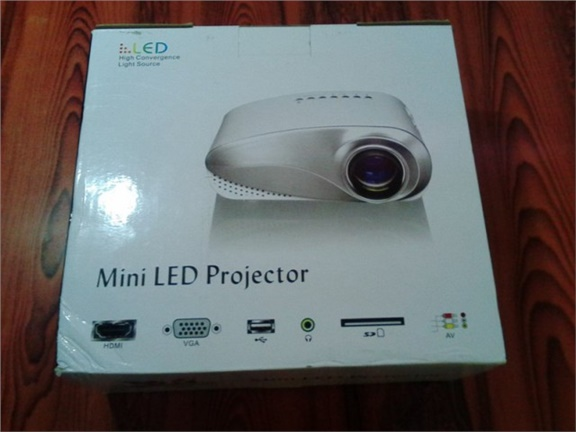 H60 LCD Projector 60 Lumens Review
