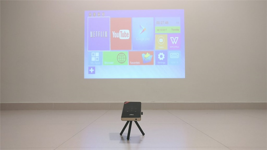 H96-P DLP Portable Android Projector Review