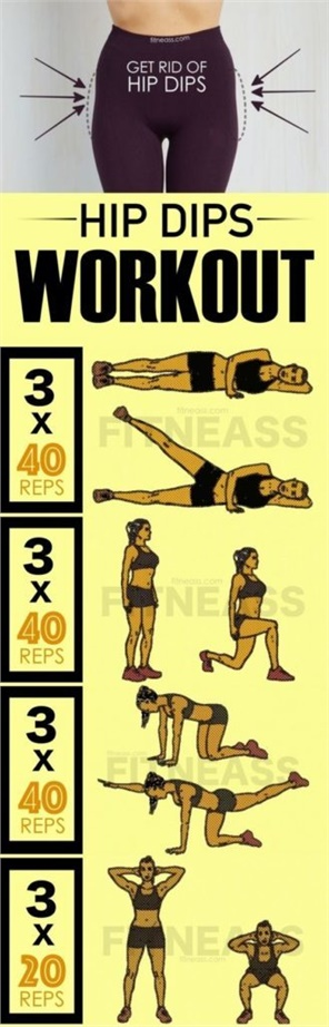 How To Reduce Hip Dips And Get Rid Of Violin Hips
