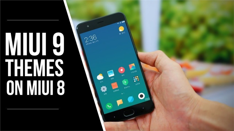 How to get Official MiUI 9 Themes on MiUI 8 Device (No ROOT)