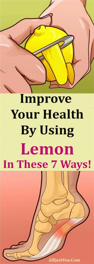 Improve Your Health By Using Lemon In These 7 Ways!