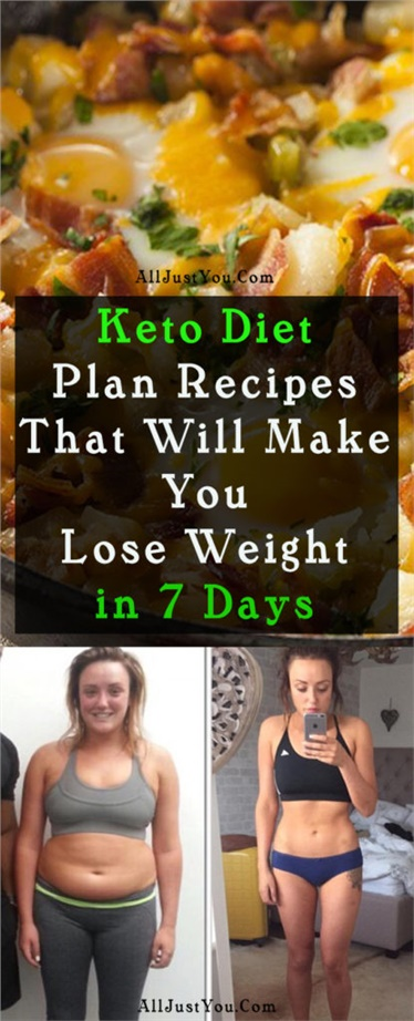 Keto Diet Plan Recipes That Will Make You Lose Weight in 7 Days