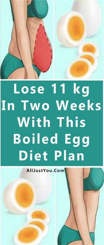 Lose 11 kg In Two Weeks With This Boiled Egg Diet Plan