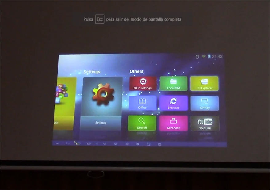 RD 601 Projector Review
