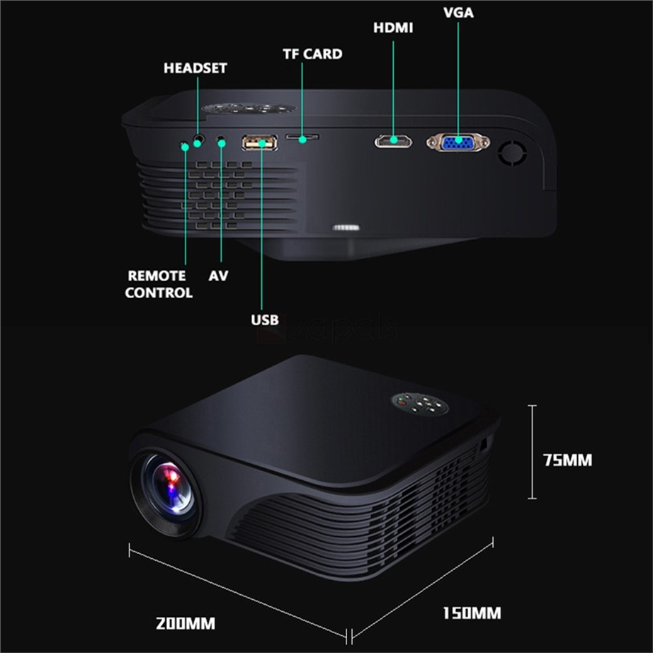 S320 LCD Home Theatre Projector Review