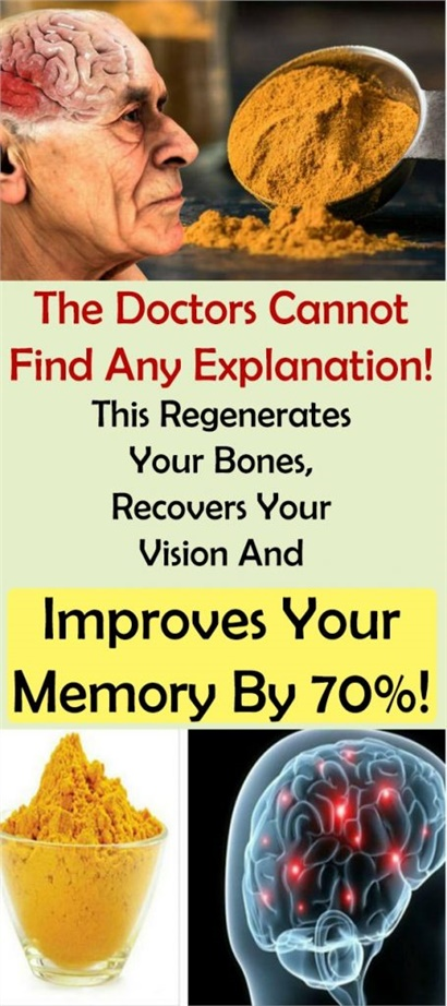 The Doctors Cannot Find Any Explanation! This Regenerates Your Bones, Recovers Your Vision And Improves Your Memory By 70%!